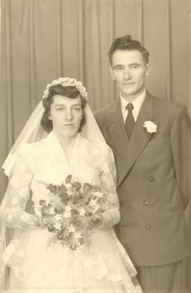 Wedding Portrait of Justina and Arthur