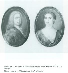 Balthasar Denner and his wife Esther Winter