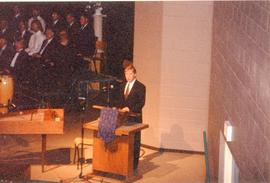 John Martens at a Convention Concert