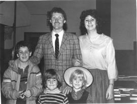 Andre and Francine Bourque with family