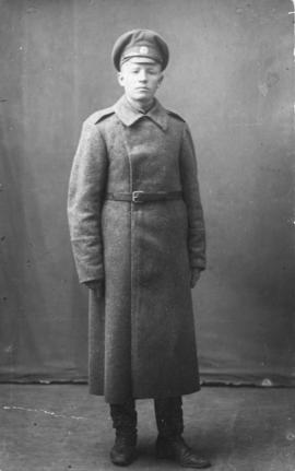 John T. Voth in uniform for the Russian army medical corp