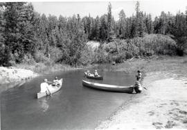 Canoeing at Camp Evergreen