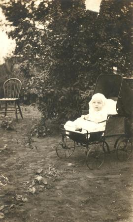 David Voth as an infant