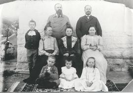 The first missionary families from Russia in India