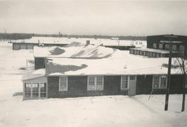 Dorms in winter