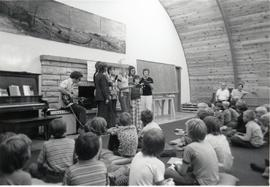 Chapel service at Camp Evergreen