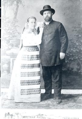 Abraham and Maria Friesen