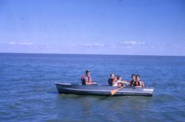 Boating at Camp Arnes