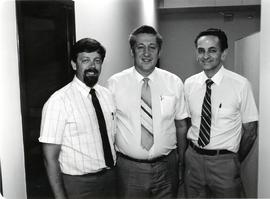 Bob Friesen, Herb Neufeld, and John Redekop