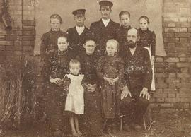 Unidentified family photograph - 1900, Russia