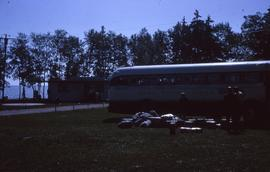 Bus coming to Camp Arnes
