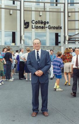 Ernest Dyck at Quebec Convention 1992