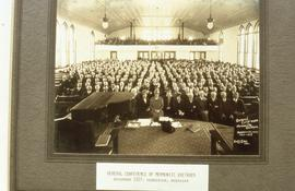 1927 General Conference of Mennonite Brethren Meeting photo
