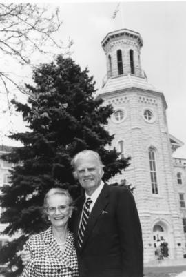 Billy and Ruth Graham at Wheaton College