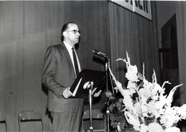 Rev. Waldo Hiebert, Saskatoon Faith and Life Conference, July, 1970