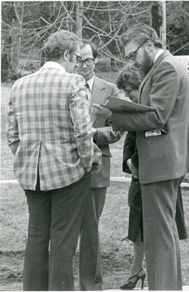 Art Loewen, Harvey Schroeder, and John Hooge