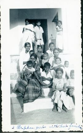 Orphans with their families