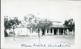 Mission hospital in Deverakonda