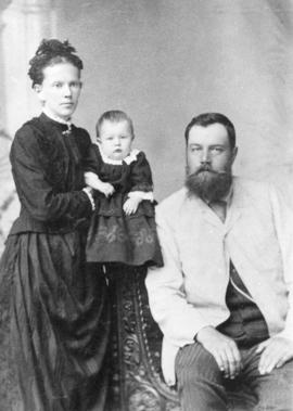 P.M. Friesen and family