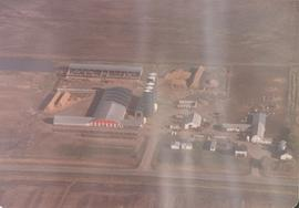 Aerial photo of Braun farm