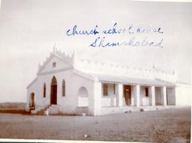 Church-school house in Shamshabad, India