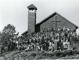 Group photo at a youth workers convention.