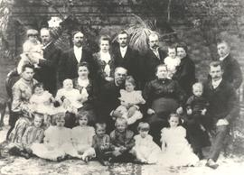 Family of Herman Bergmann and Helena Bergmann