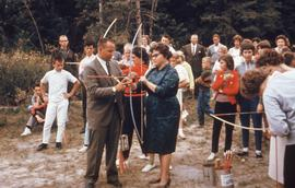Archery - John and student
