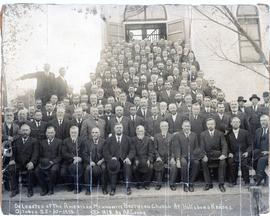 Delegates of the American M.B. Church at Hillsboro, KS;  October 28-30, 1912