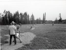 Baseball at Camp Evergreen