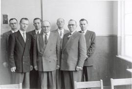 A group of ministers in a classroom