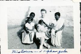 Miss Toews and orphan girls