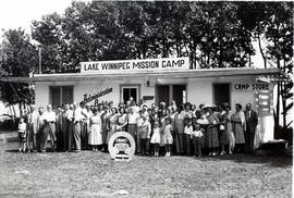 Lake Winnipeg Mission Camp Administrative building