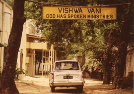 """God Has Spoken Ministries"" sign"