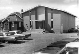 A church building in the 1960s
