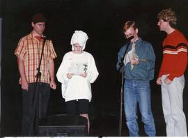 Youth on stage at Banff '89
