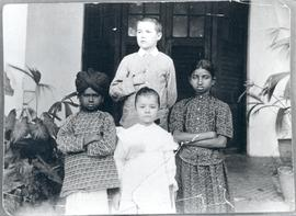Missionary children Aaron and Mary Friesen
