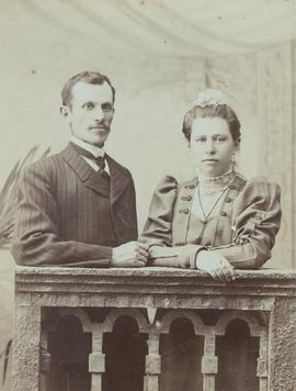 Mr. & Mrs. Cornelius Reimer, Kuban,  1909.