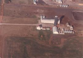 Aerial photo of C. Rempel farm