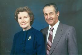 Ernest Dyck and his wife, Lydia