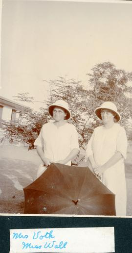 Two missionary women