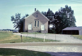 Blenheim Mennonite Church near New Dundee, Ontario