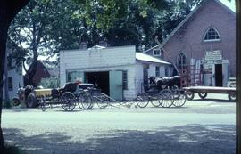 Blacksmith shop in Hawkesville, Ontario