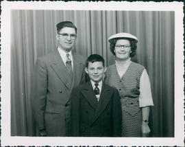 Pastor & Mrs. Jack Hoeppner and son