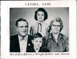 Edwin & Violet Wright, Robert & Denise