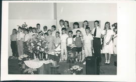 Christian Day School choir singing