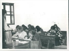 Class at Loma Plata Bible School