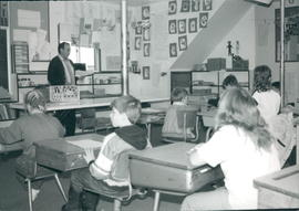 A Class at the Christian Day School