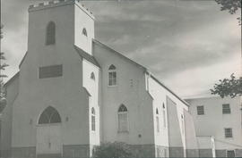 Steinbach Mennonite Church building, occupied from 1951-74