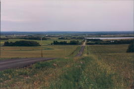 The rolling countryside around Grande Prairie AB